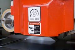 Опасное оборудование Стоковое Фото