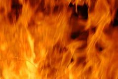 опасное пламя Стоковое фото RF