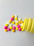Опасности антидепрессанта Стоковая Фотография