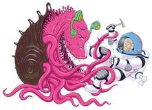 Опасности космических исследований Стоковая Фотография RF