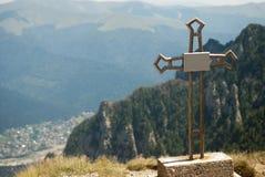 Опасность горы Стоковые Изображения RF