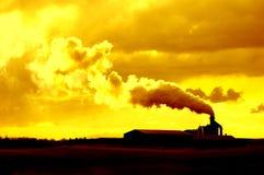 Опасность для окружающей среды Стоковое фото RF