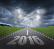 Опасность к концепции Нового Года иллюстрация вектора