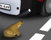 Опасность на дорогах Стоковые Изображения RF
