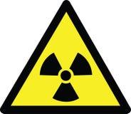 Опасность радиации Стоковое фото RF