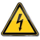 Опасность электрического напряжения тока бесплатная иллюстрация
