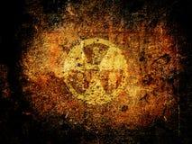 опасность ядерная Стоковые Изображения