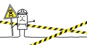 опасность Стоковое фото RF