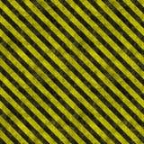 опасность stripes предупреждение Стоковые Фотографии RF