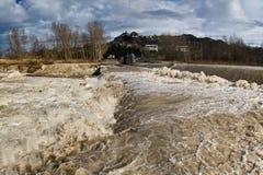 опасные воды Стоковые Изображения
