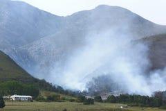 опасный пожар Стоковые Фотографии RF