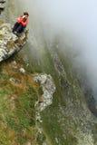 опасный hiking Стоковое Фото