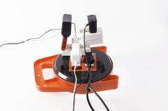 Опасный pluging Стоковое Изображение RF
