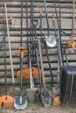 лопаткоулавливатель сгребалки стоковое фото