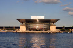 опера дома copenhagen Дании стоковое фото