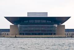 опера дома copenhagen Стоковое Изображение