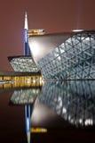 опера дома guangzhou Стоковое Изображение RF