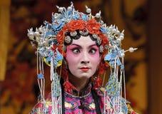 опера китайца актрисы стоковое фото