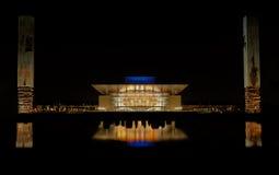опера ночи дома copenhagen Стоковая Фотография RF