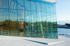 опера Осло Норвегии дома Стоковое Изображение