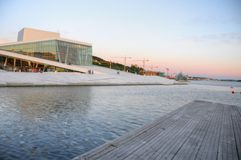 опера Осло Норвегии здания Стоковое Фото