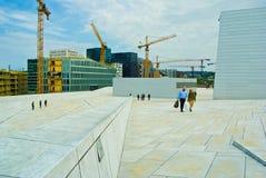 Опера Осло стоковая фотография rf
