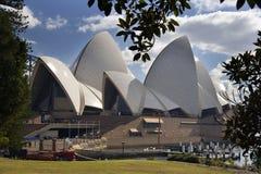 опера Сидней дома Австралии Стоковые Изображения RF