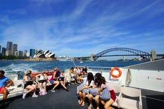опера Сидней дома гавани моста Австралии Стоковые Фотографии RF