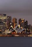 опера Сидней дома Стоковое фото RF