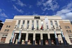 опера rome стоковая фотография