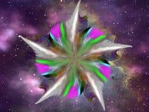 Оперенный цветок Стоковые Фотографии RF
