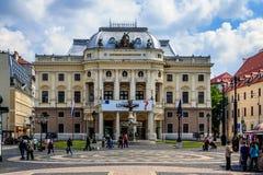 Оперный театр, Братислава, Словакия Стоковые Фотографии RF