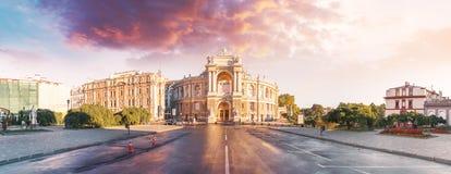 Оперный театр в Одессе, Украине Театр оперы и балета государства Одессы академичный стоковые изображения rf