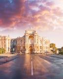 Оперный театр в Одессе, Украине Театр оперы и балета государства Одессы академичный стоковое изображение rf