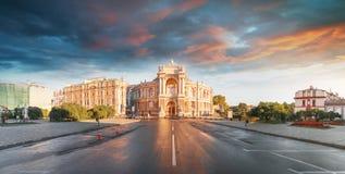 Оперный театр в Одессе, Украине Театр оперы и балета государства Одессы академичный стоковые изображения