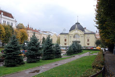 Оперный театр в Chernivtsi Стоковая Фотография RF