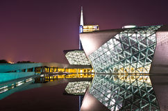 Оперный театр Гуанчжоу Стоковая Фотография RF