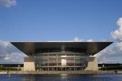 Оперный театр Копенгагена Стоковая Фотография RF