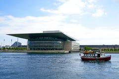 Оперный театр Копенгагена Стоковое Изображение RF