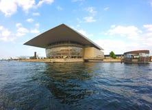 Оперный театр Копенгагена стоковые изображения rf