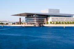 Оперный театр Копенгагена Стоковое Изображение