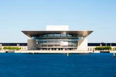 Оперный театр Копенгагена Стоковые Фотографии RF