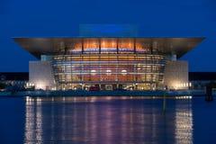 Оперный театр Копенгагена Стоковые Изображения