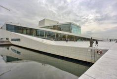 Оперный театр Осло Стоковая Фотография