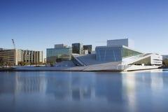 Оперный театр Осло в Норвегии Стоковое фото RF