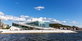 Оперный театр Осло стоковые изображения