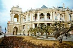 Оперный театр Одессы Стоковые Фотографии RF