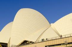 Оперный театр Сиднея стоковые изображения