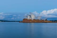 Оперный театр Сиднея долгой выдержки Стоковая Фотография RF