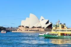 Оперный театр Сиднея Стоковые Изображения RF